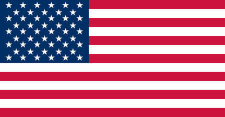 Historical flag of the United States of America. Authorized July 4, 1960, this flag added a 50th star for Hawaii.