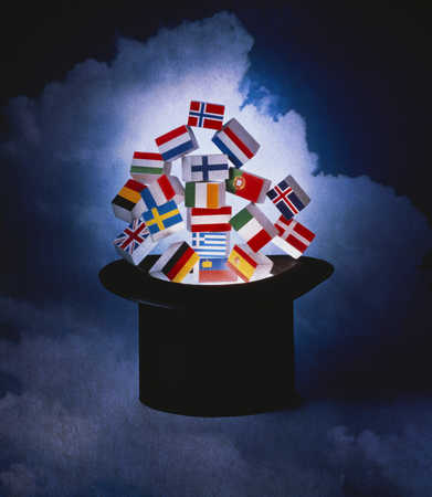 Hat with International flags