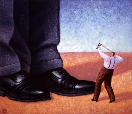 Corporate David And Goliath