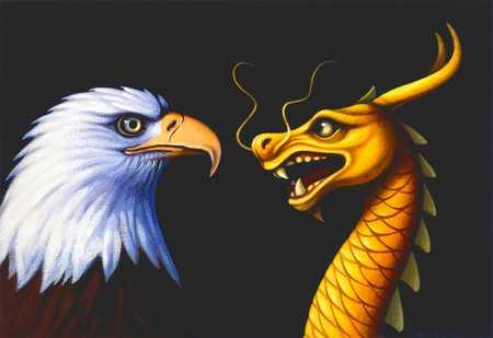 Eagle And Dragon