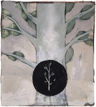 Sapling And Tree
