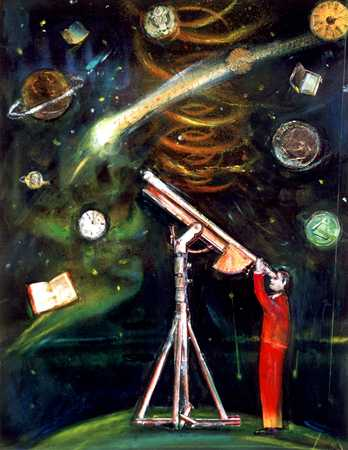 Viewer With Telescope