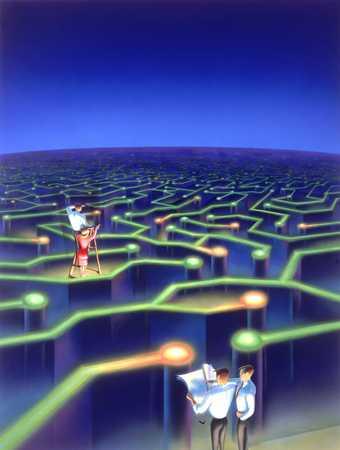 Electronic Maze