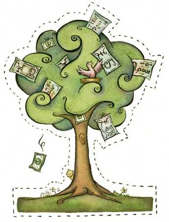 World Currency Tree