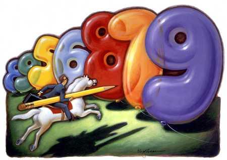 Deflating High Numbers