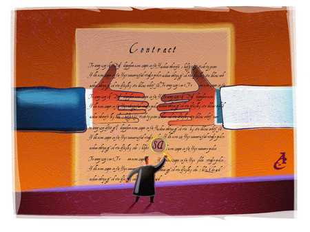 Contract Attorney With Agreement