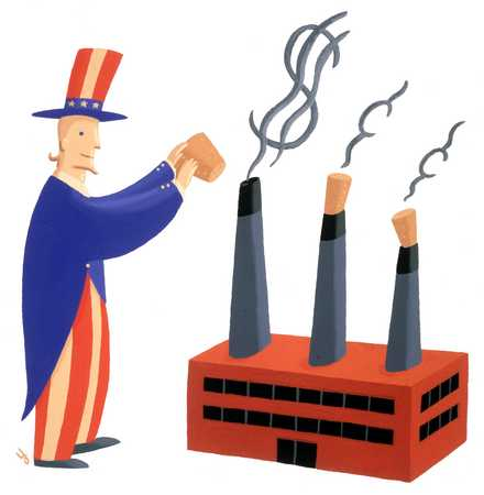 Uncle Sam Corking Up Industry