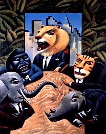 Business Animals Meeting