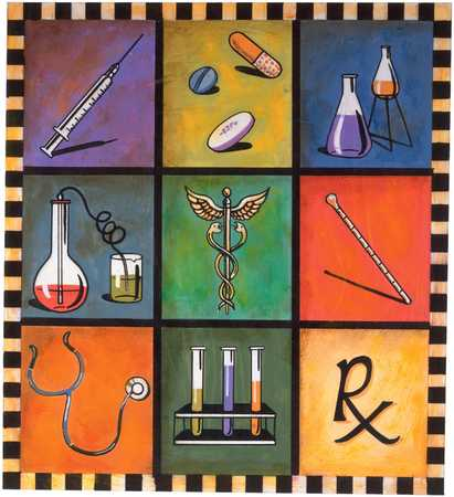 Medical Symbols And Objects