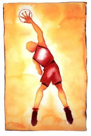 Basketball Player, Back