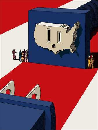 United States socket and plug
