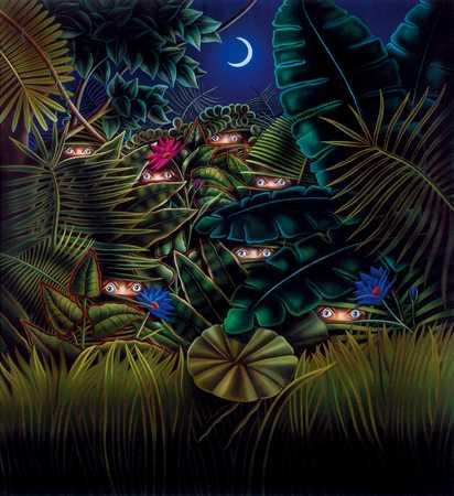 Eyes In Jungle