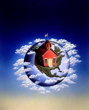 Schoolhouse In America