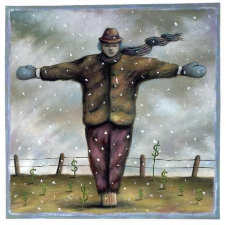 Winter Scarecrow