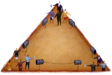 Triangle Of Inter-Office Communications