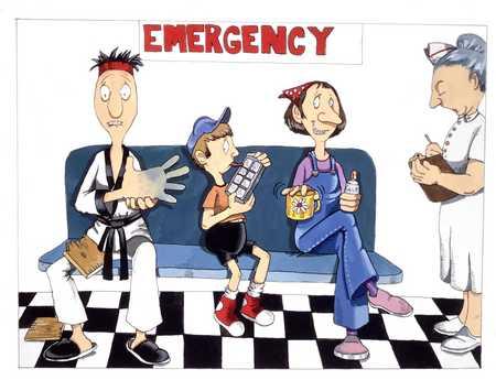 People At Emergency Room