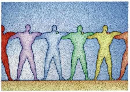 Rainbow Of Figures