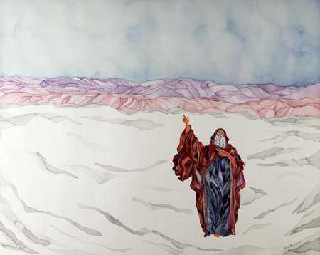 Figure In Snow
