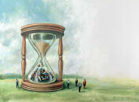 Pharmaceutical Hourglass