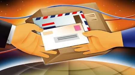 Handing off mail