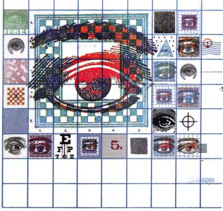 Large Eye With Icons