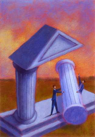 Taking Down A Column