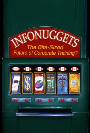 Corporate vending machine