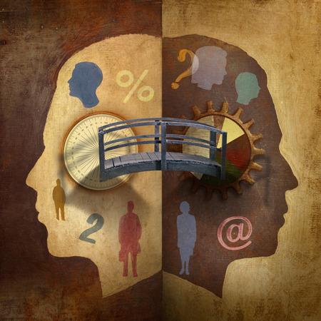 Bridge between two human minds