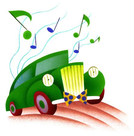 Singing car