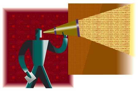 Telescope Into Web