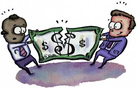 Money Tug-Of-War