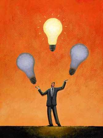 Juggling Light Bulbs