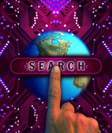 World with search engine
