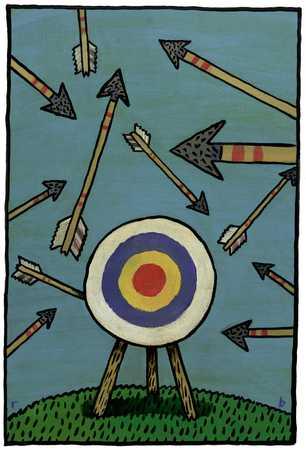 Arrows Missing Bull's-Eye