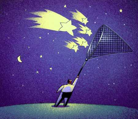 Catching Stars With Butterfly Net