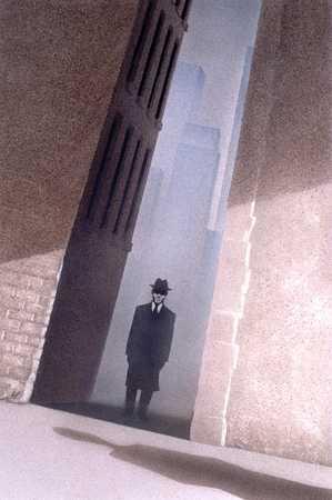 Figure In Alley