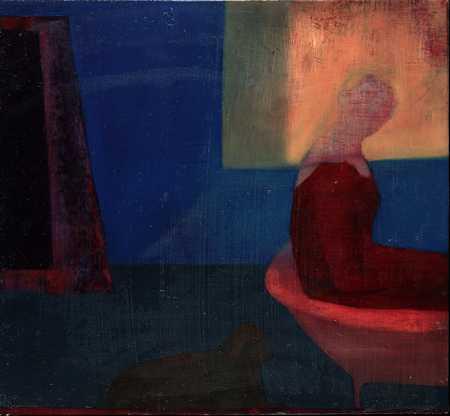 Figure in corner
