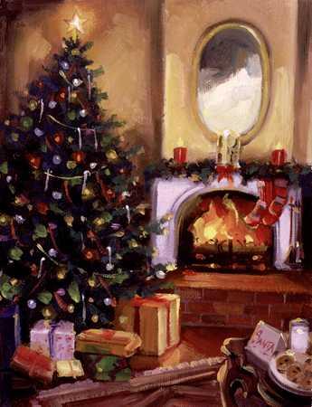 Stock Illustration - Christmas Scene