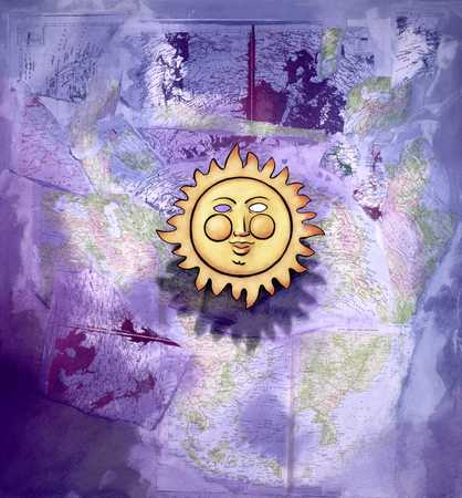 Sun And Weather Map