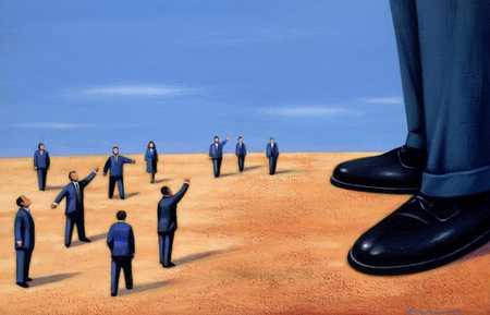 Small Businessmen Versus Big Businessman