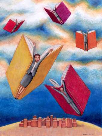People Flying/Knowledge