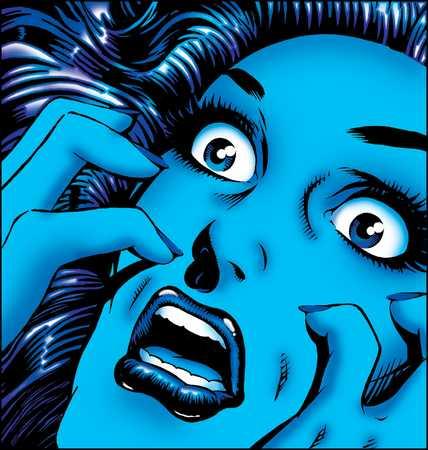 Woman In Panic