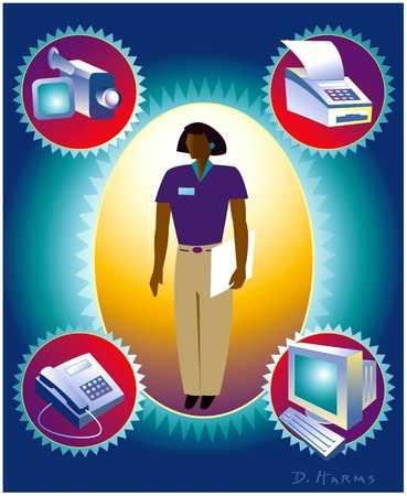Woman/Technology