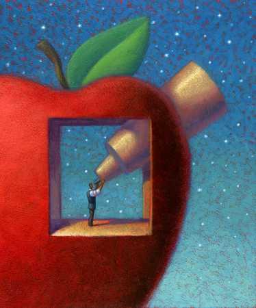 Searching Through Apple