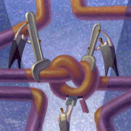 Knot In The Network
