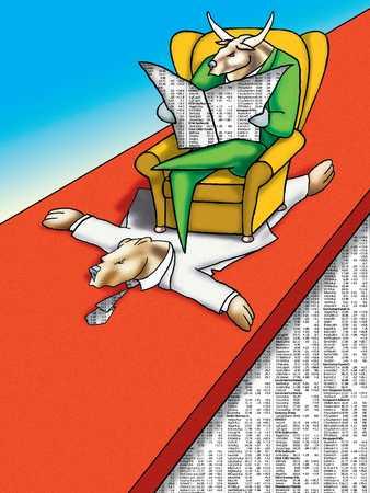 Stock Market Arm Chair