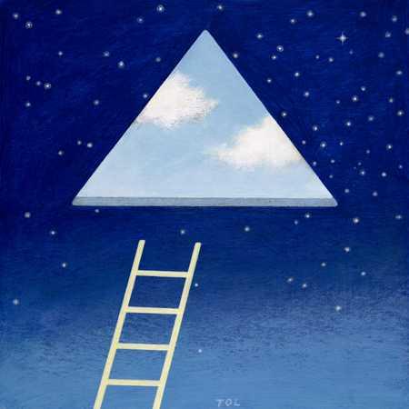 Triangular Skylight/Ladder