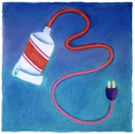 Paint Tube/ Electrical Cord