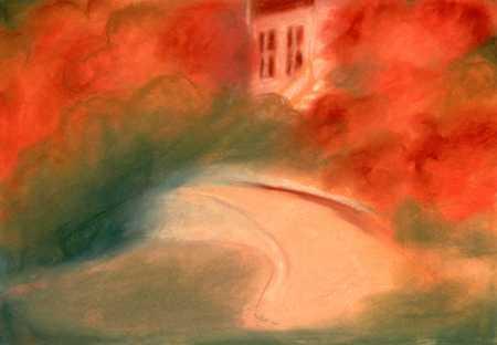 House In Fall Season