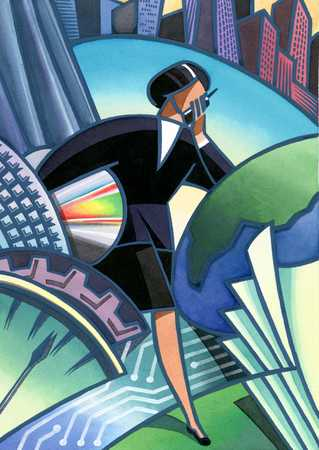 Businesswoman/Modern World